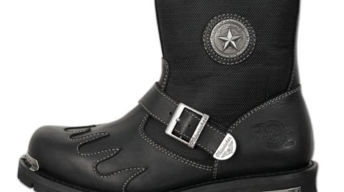a41d5f94295b9 Milwaukee Motorcycle Clothing Company Mens Burnout Boots (Black ...