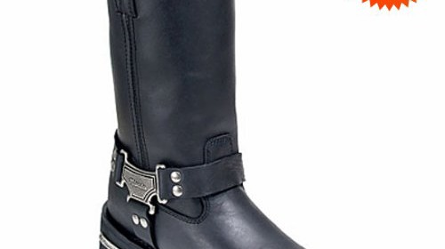 ba49918f934 Harness Boots – Milwaukee Classic Harness Motorcycle Boots 12 D Durable  construction Classic styling Instant comfort from a fully cushioned  REMOVABLE ...